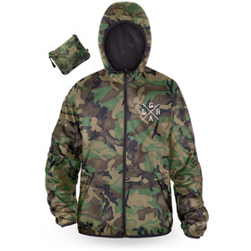 Loose Riders Windbreaker Men, forest camo